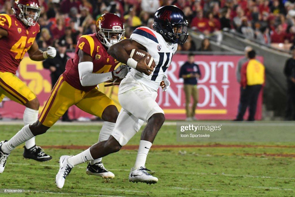 COLLEGE FOOTBALL: NOV 04 Arizona at USC : News Photo
