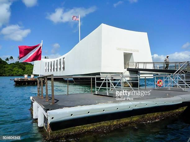 USS アリゾナ記念館、パールハーバー、ハワイ