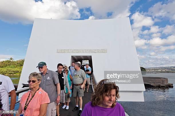 uss arizona memorial - uss_arizona stock pictures, royalty-free photos & images
