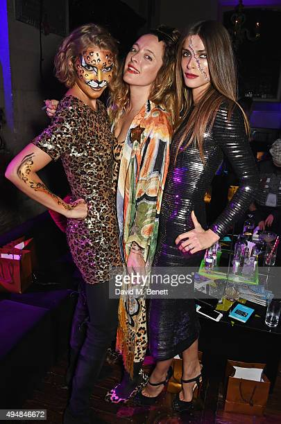 Arizona Muse Alice Temperley and Elisa Sednaoui attend The Unicef UK Halloween Ball raising vital funds to support Unicef's lifesaving work for...