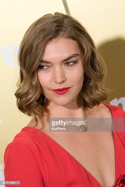 Arizona Muse American fashion model attends the award ceremony of the XI edition of the Prix de la Moda Marie Claire held at the Residence of France...