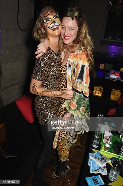Arizona Muse and Alice Temperley attend The Unicef UK Halloween Ball raising vital funds to support Unicef's lifesaving work for Syrian children in...