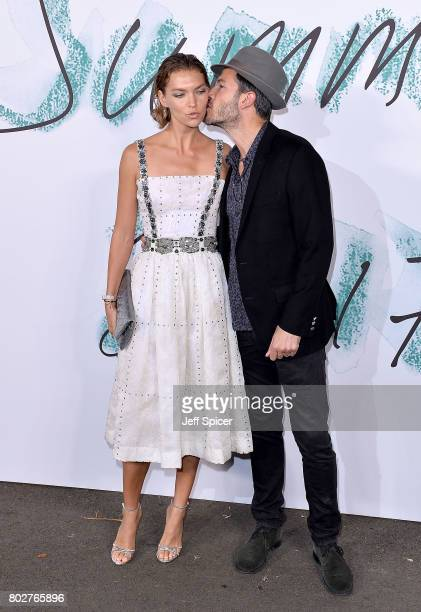 Arizona Muse and Boniface VerneyCarron attend The Serpentine Galleries Summer Party at The Serpentine Gallery on June 28 2017 in London England