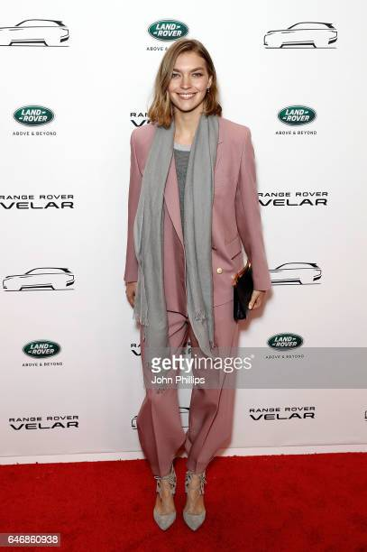 Arizona Muse arrives at the launch of the New Range Rover Velar on March 1 2017 in London United Kingdom