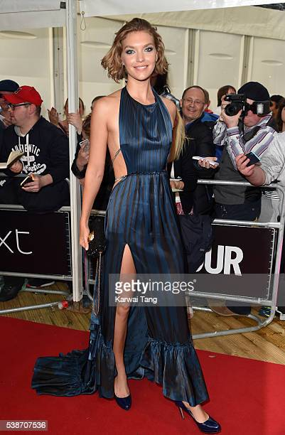 Arizona Muse arrives for the Glamour Women Of The Year Awards in Berkeley Square Gardens on June 7 2016 in London United Kingdom