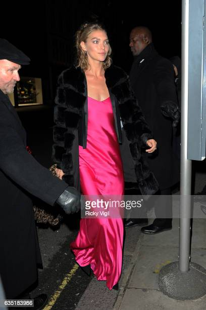 Arizona Muse arriving at the Elle Style Awards on February 13 2017 in London England