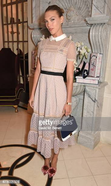 Arizona Muse attends a VIP dinner celebrating Mrs Alice for French Sole at The Connaught Hotel on April 25 2017 in London England