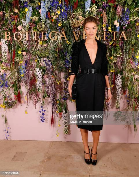 Arizona Muse attends Bottega Veneta's 'The Hand of the Artisan Cocktail Dinner' at Chiswick House And Gardens on November 9 2017 in London England