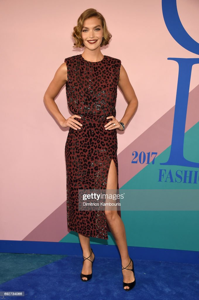 Arizona Muse attends the 2017 CFDA Fashion Awards at Hammerstein Ballroom on June 5, 2017 in New York City.