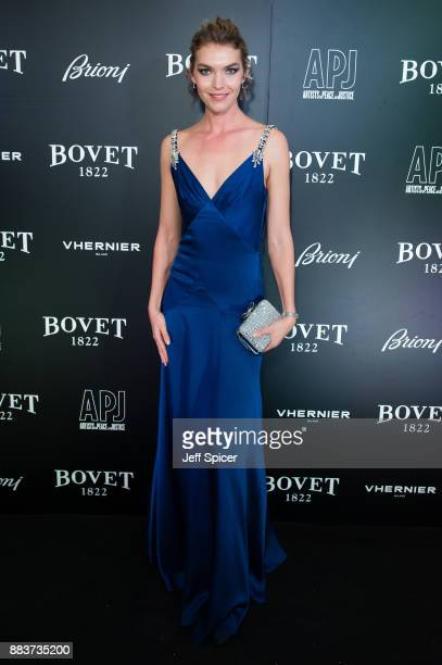 Arizona Muse attends the 'Brilliant Is Beautiful' gala held at Claridge's Hotel on December 1 2017 in London England