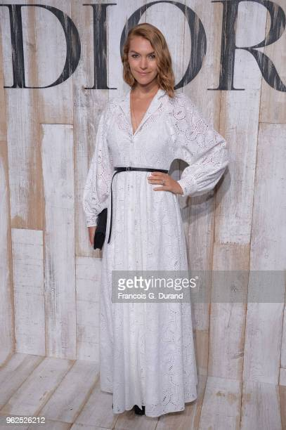 Arizona Muse attends the Christian Dior Couture S/S19 Cruise Collection Photocall At Grandes Ecuries De Chantillyon May 25 2018 in Chantilly France