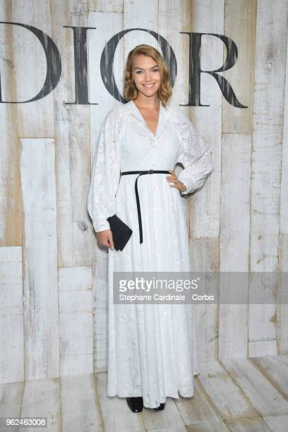 Arizona Muse attends the Christian Dior Couture S/S19 Cruise Collection on May 25 2018 in Chantilly France