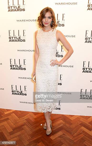 Arizona Muse attends the Elle Style Awards 2014 at One Embankment on February 18 2014 in London England
