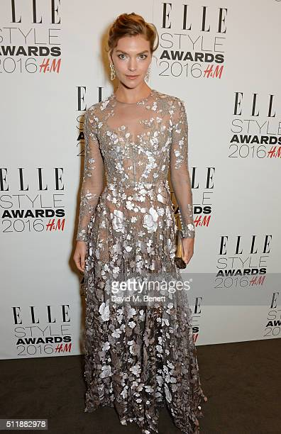 Arizona Muse attends The Elle Style Awards 2016 on February 23 2016 in London England