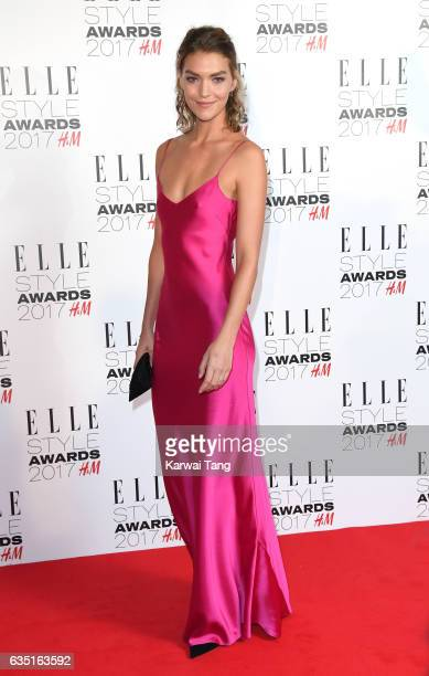 Arizona Muse attends the Elle Style Awards 2017 on February 13 2017 in London England