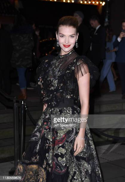Arizona Muse attends the Fabulous Fund Fair during London Fashion Week February 2019 at The Roundhouse on February 18 2019 in London England
