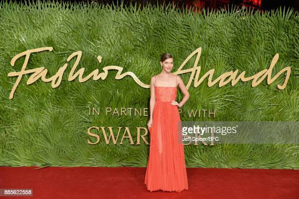 Arizona Muse attends The Fashion Awards 2017 in partnership with Swarovski at Royal Albert Hall on December 4 2017 in London England