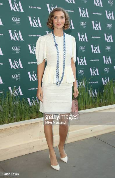 Arizona Muse attends the Fashioned From Nature VIP preview at The VA on April 18 2018 in London England