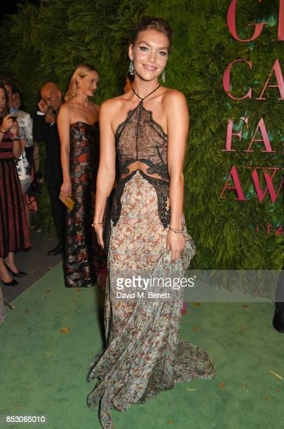 Arizona Muse attends the Green Carpet Fashion Awards Italia wearing Stella McCartney for the Green Carpet Challenge at Teatro Alla Scala on September...