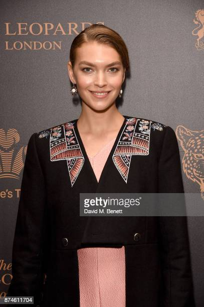 Arizona Muse attends the Leopard Awards in Aid of the Prince's Trust at Goldsmith's Hall on November 15 2017 in London England
