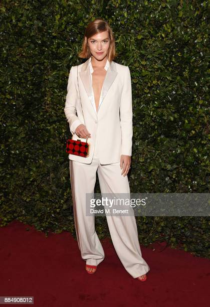 Arizona Muse attends the London Evening Standard Theatre Awards 2017 at the Theatre Royal Drury Lane on December 3 2017 in London England