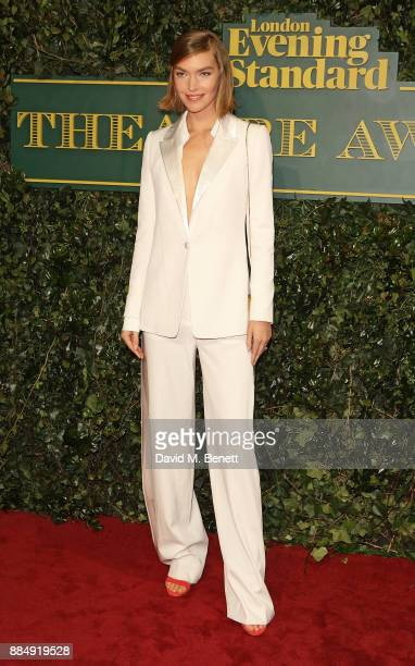 Arizona Muse attends the London Evening Standard Theatre Awards at Theatre Royal on December 3 2017 in London England