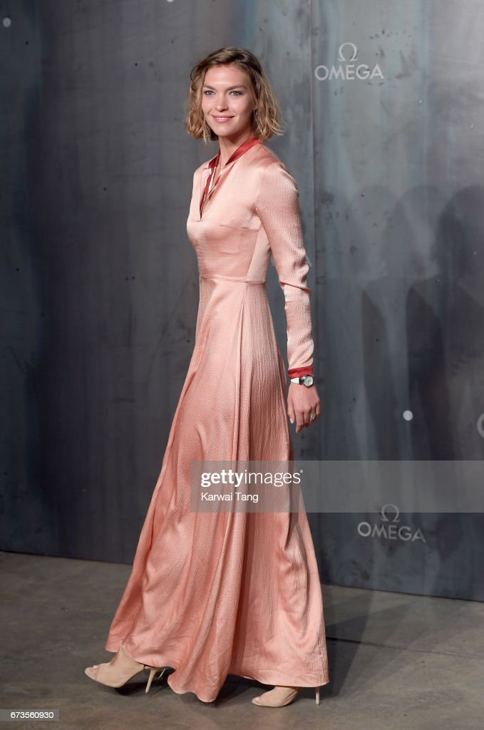 Arizona Muse attends the Lost In Space event to celebrate the 60th anniversary of the OMEGA Speedmaster at the Tate Modern on April 26, 2017 in London, United Kingdom. The OMEGA Speedmaster Watch has been worn by every piloted NASA mission since 1965.