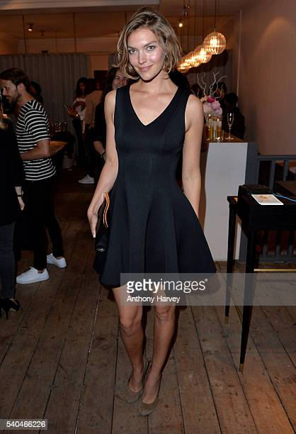 Arizona Muse attends the Onira Organics official launch celebration party at Dry By London on June 15 2016 in London England
