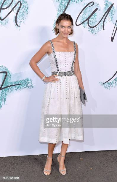Arizona Muse attends The Serpentine Galleries Summer Party at The Serpentine Gallery on June 28 2017 in London England