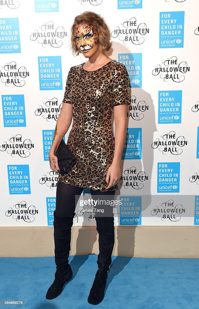 Arizona Muse attends the UNICEF Halloween Ball at One Mayfair on October 29, 2015 in London, England.
