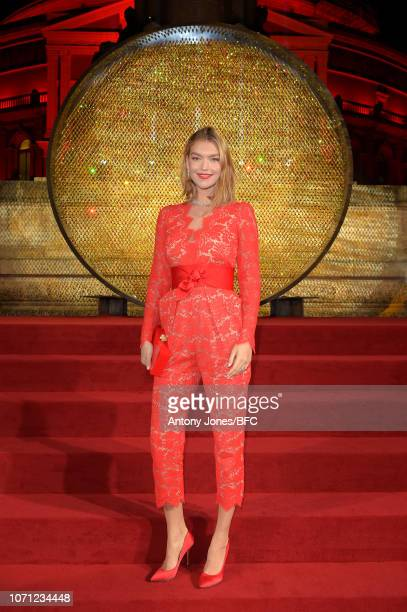 Arizona Muse during The Fashion Awards 2018 In Partnership With Swarovski at Royal Albert Hall on December 10 2018 in London England