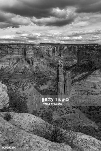 Arizona, Navajo Reservation, Canyon de Chelly, National Monument, Spider Rock, .