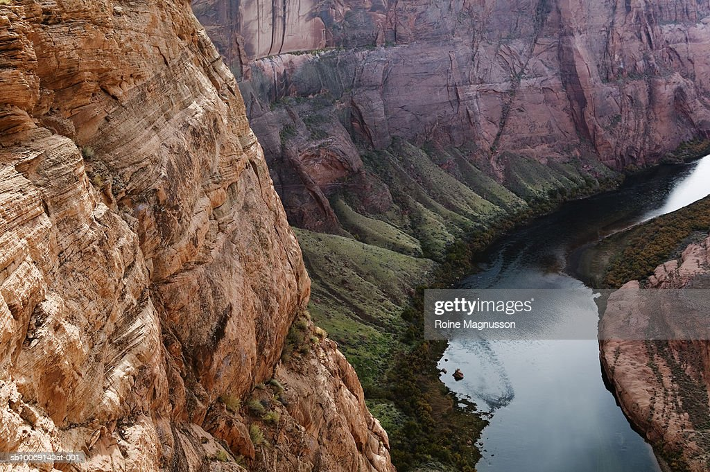 USA, Arizona, Page, Colorado River, Horseshoe Bend : Stockfoto