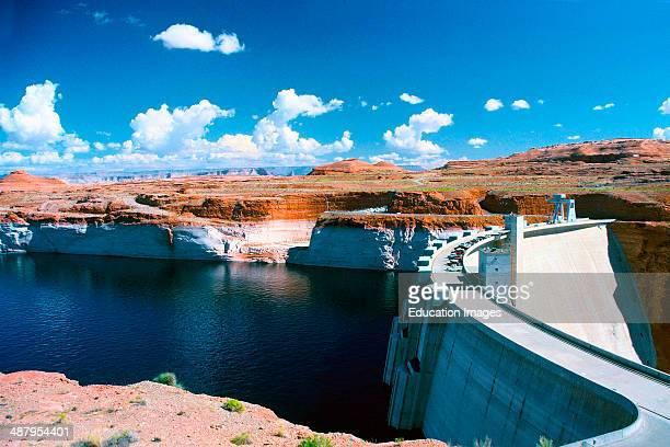 Arizona Page Glen Canyon Dam