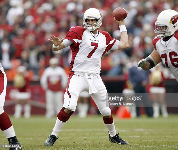 Arizona quarterback Matt Leinart threw for 162 yards and one touchdown as the Arizona Cardinals defeated the San Francisco 49ers by a score of 26 to...