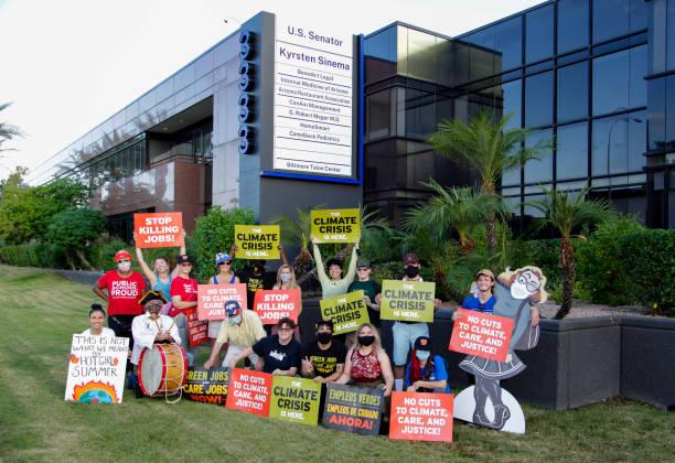 AZ: Rally At Senator Sinema's Office For The Full Build Back Better Deal