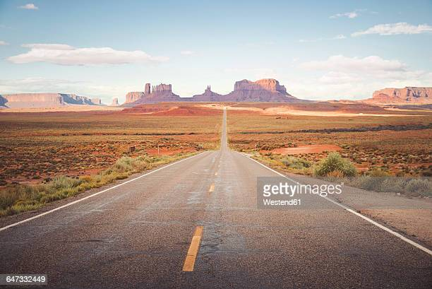 USA, Arizona, road to Monument Valley