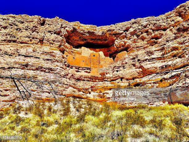 arizona ruins - sinagua stock pictures, royalty-free photos & images