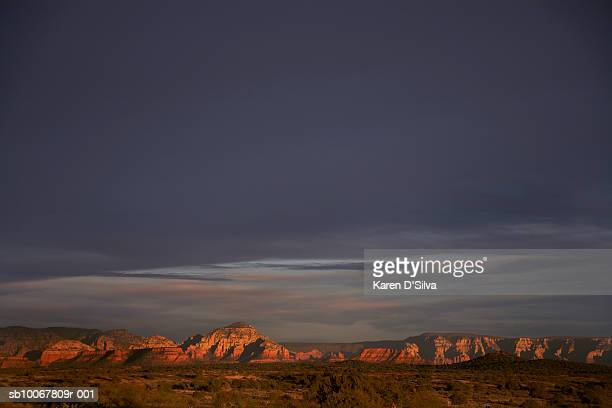 USA, Arizona, Sedona, Rock formation