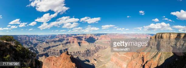 USA, Arizona, South Rim, Colorado River, Grand Canyon National Park, panorama from Mohave Point
