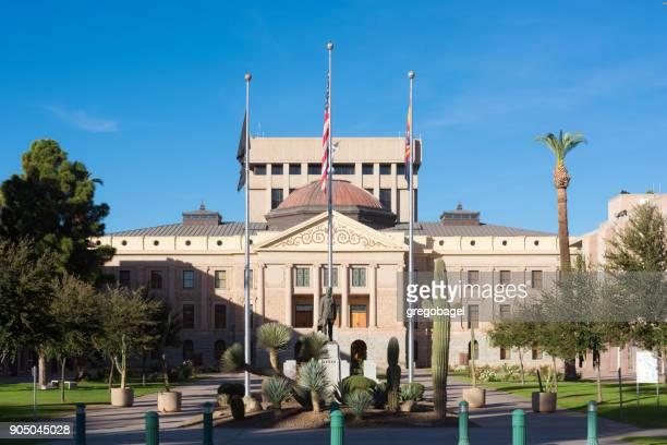 Arizona State Capitol building in Phoenix, AZ