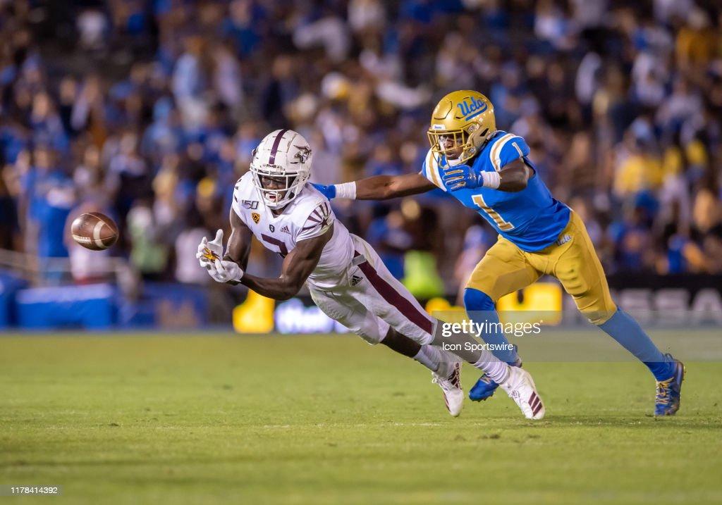 COLLEGE FOOTBALL: OCT 26 Arizona State at UCLA : News Photo