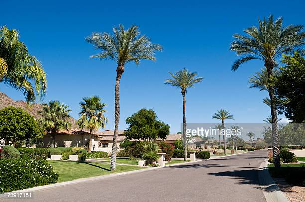 arizona street - phoenix arizona stock photos and pictures