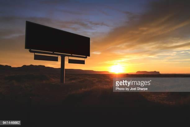 Arizona Sunset Billboard