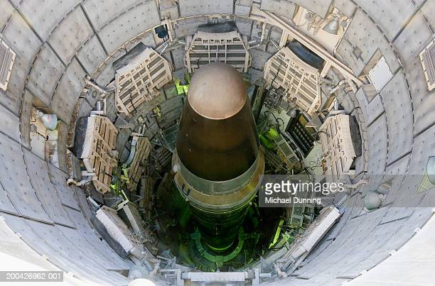 USA, Arizona, Titan nuclear intercontinental ballistic missile in silo