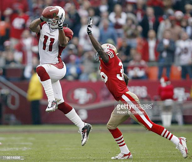 Arizona wide receiver Larry Fitzgerald had four receptions for 93 yards as the Arizona Cardinals defeated the San Francisco 49ers by a score of 26 to...