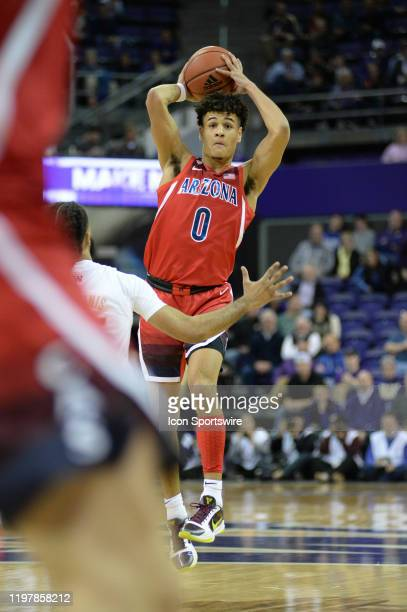 Arizona Wildcats guard Josh Green in action during a PAC12 Conference game between the University of Arizona Wildcats and the University of...
