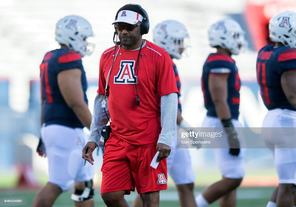 COLLEGE FOOTBALL: APR 14 Arizona Spring Game : News Photo