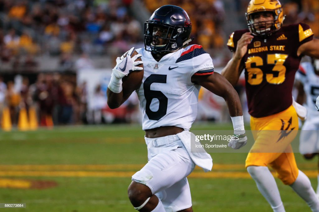 COLLEGE FOOTBALL: NOV 25 Arizona at Arizona State : News Photo