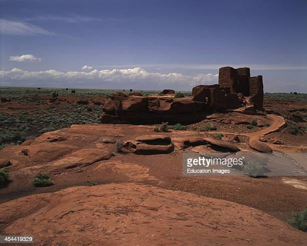 Arizona, Wupatki National Monument, Ruins Of Sinagua People.